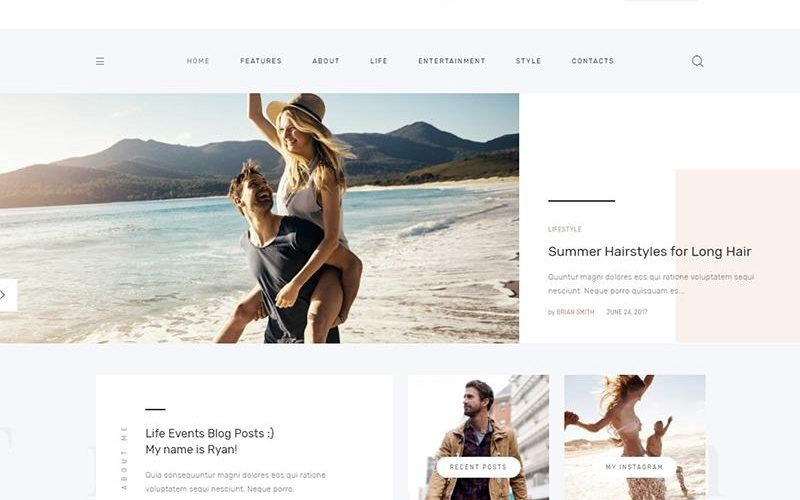 Top 12 Personal Blog WordPress Themes
