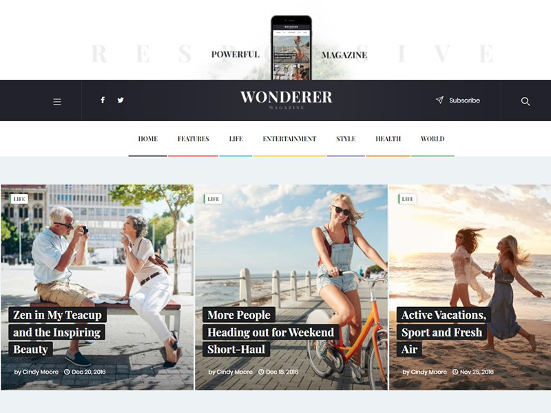 Wonderer | Personal Blog & Review Magazine