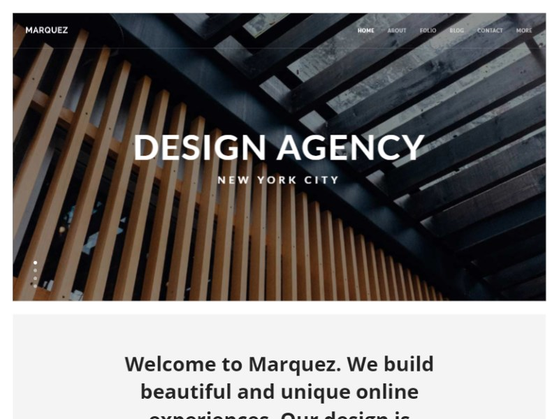 25 marquez creative agency html template