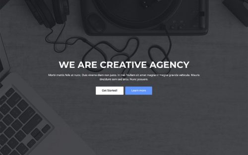 25+ Creative Digital Agency Website Templates – Free & Premium