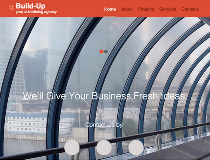 8 advertising agency responsive website template
