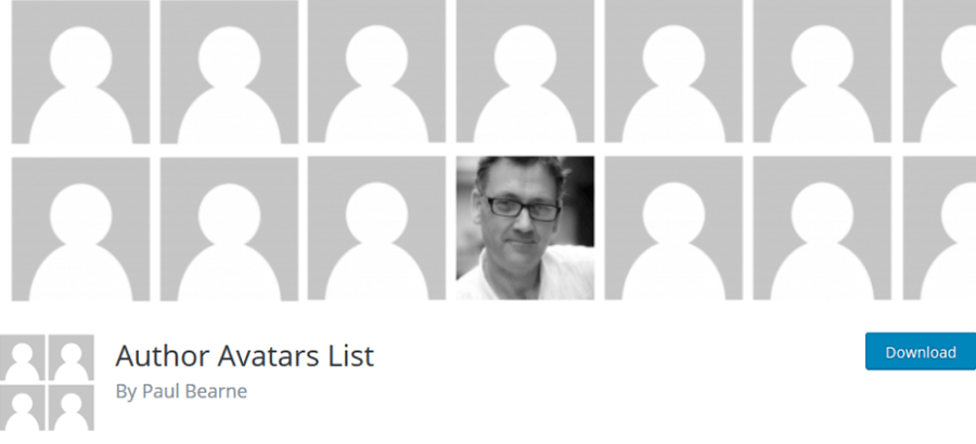 Authors Avatars List
