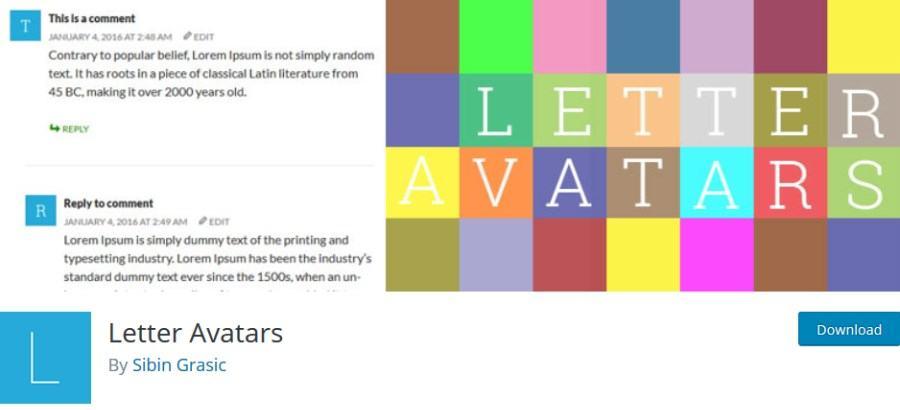 Letter Avatars