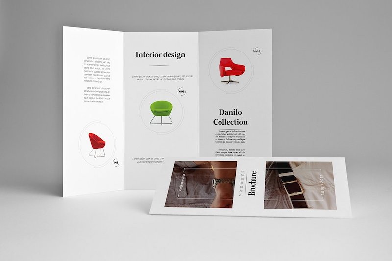 25 tri fold brochure templates psd ai indd free for Product brochure template