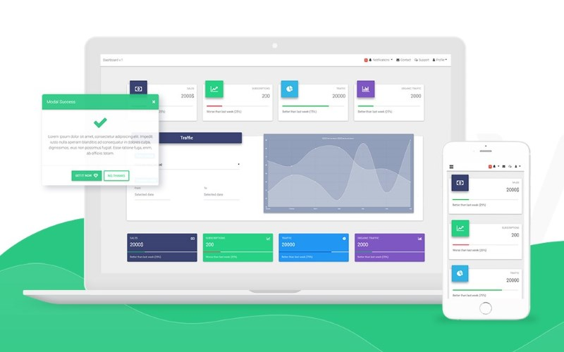 Develop with Vue.js, Bootstrap & Material Design using this Free UI Kit by MDB