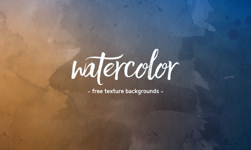 4 free watercolor backgrounds for websites and other design projects