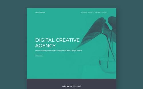 Free Creative Digital Agency Website Template built with Bootstrap