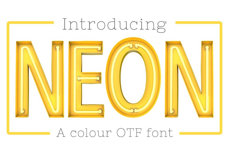 22 Awesome Color Fonts for Download (Free and Premium