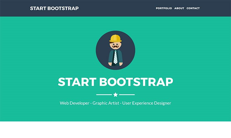 Freelancer One Page Bootstrap Portfolio Theme