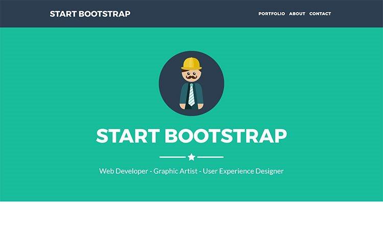 Freelancer One Page Bootstrap Portfolio Theme