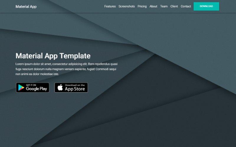 Material App Template