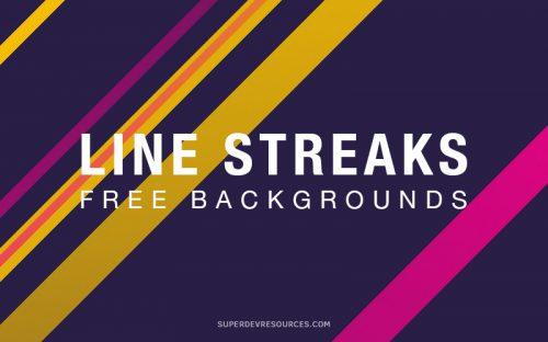 10 Free Line Streaks Backgrounds