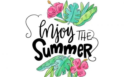 10 Free Summer Quotes with Beautiful Lettering – AI, EPS & JPG