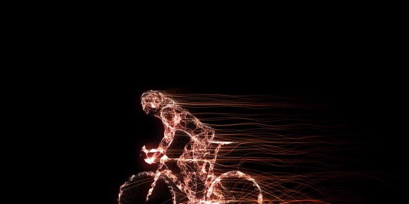 Bicycle Racing Sports Race Digital Background