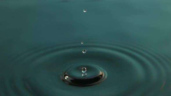 Water Drop Video Background