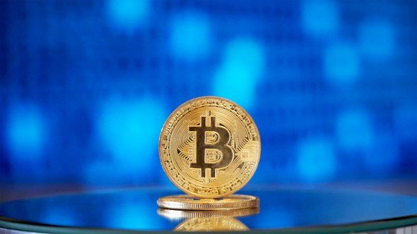Bitcoin Stock Footage