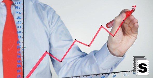 Business Success Stock Video
