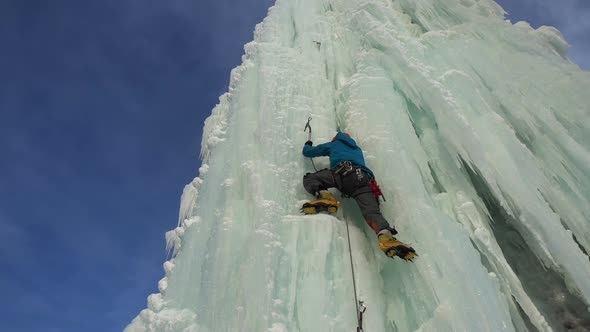 Ice Climber Video Footage