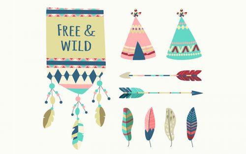free boho elements