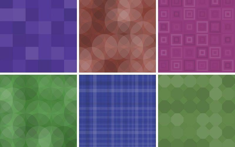 20 Free Geometric Patterns for Web Design