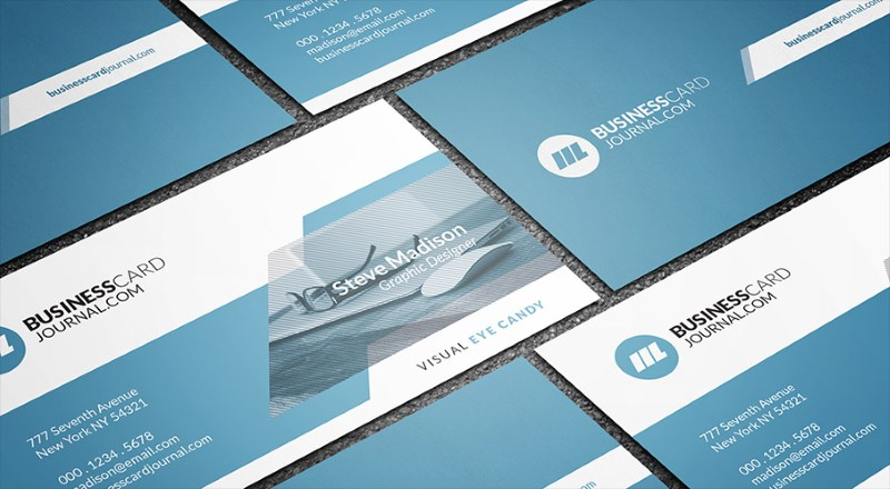 Modern Web Developer Business Card Template