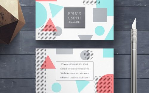 20 Creative Business Card Templates – PSD, AI & EPS Download