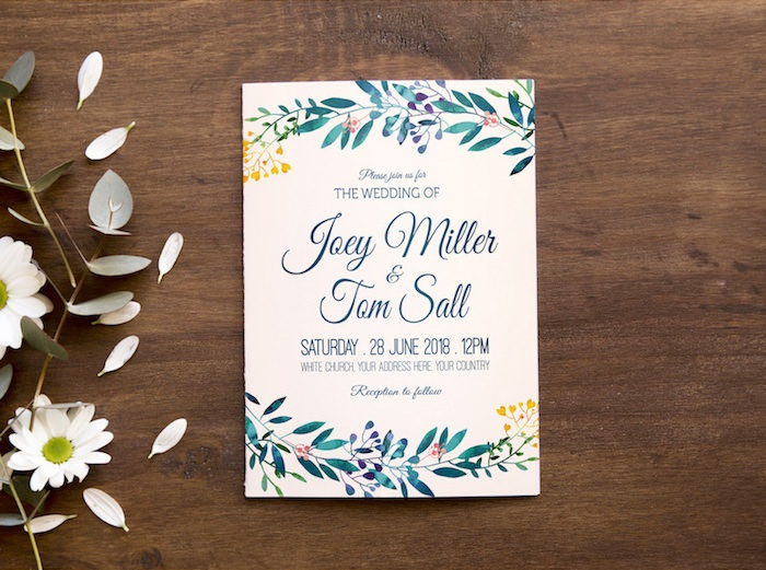 free wedding invitations ornaments