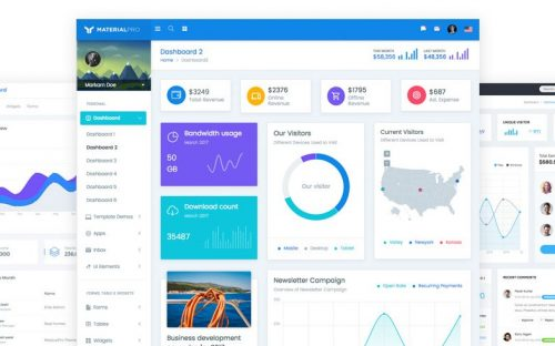 Build Awesome Projects with Readily Available Bootstrap Admin Templates
