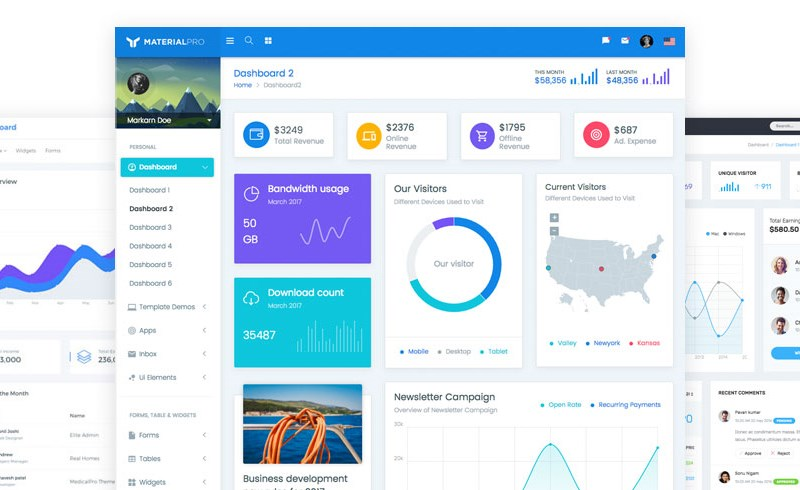 bootstrap admin preview