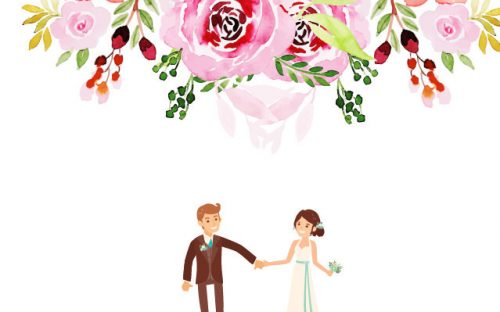 5 Free Wedding Tag Templates – PSD & AI Download