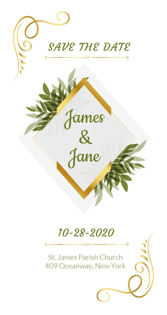 wedding tag design