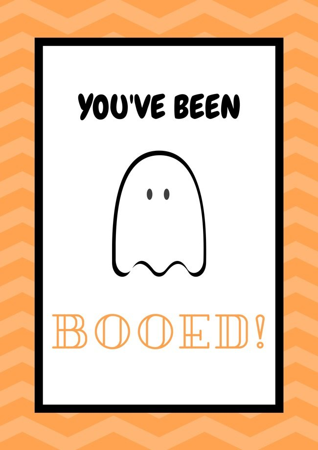 graphic relating to You've Been Booed Printable Pdf named 5 Absolutely free Halloween Posters - PDF Obtain - Tremendous Dev Components