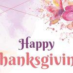 thanksgiving party invitation psd