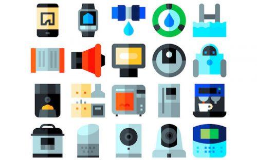 50 Free Home Automation Icons – Flat, Solid and Lineal (SVG & PNG)