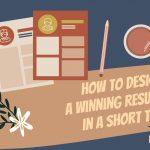 design winning resume