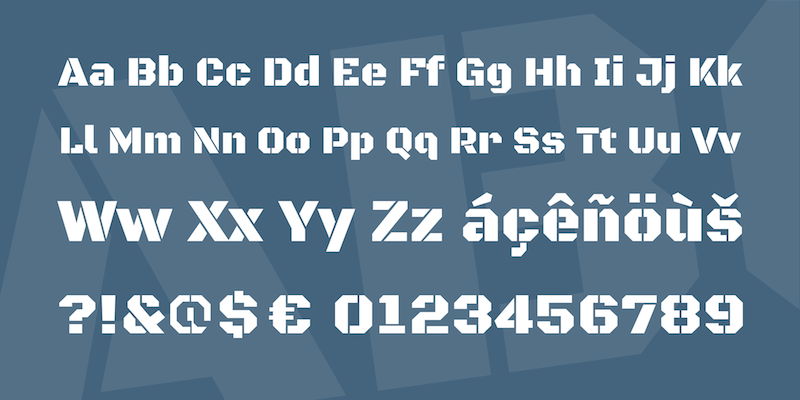 black ops one free font