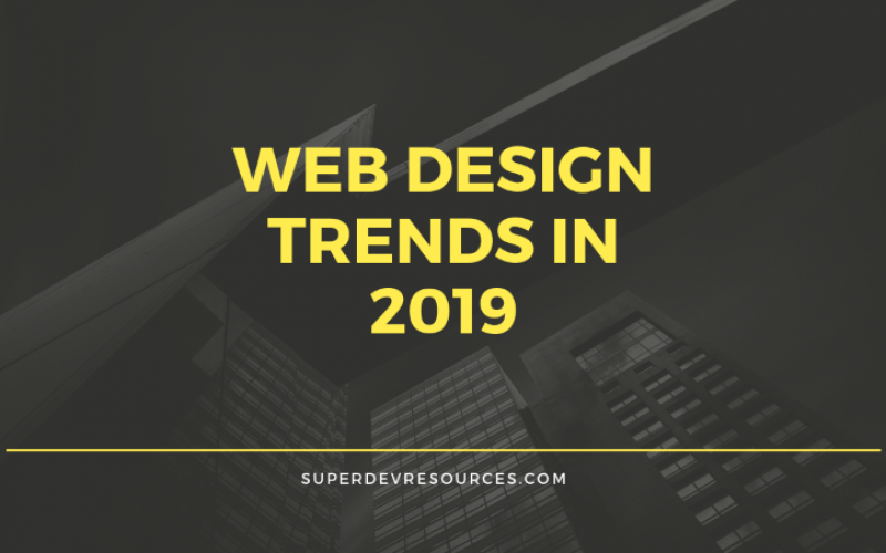 5 Popular Website Design Trends in 2019
