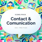 50 Free Contact and Communication Icons
