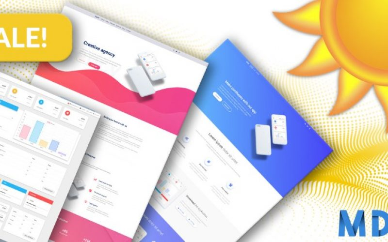 Get MDB UI Kits on Sale – Upto 80% Off for Limited Time