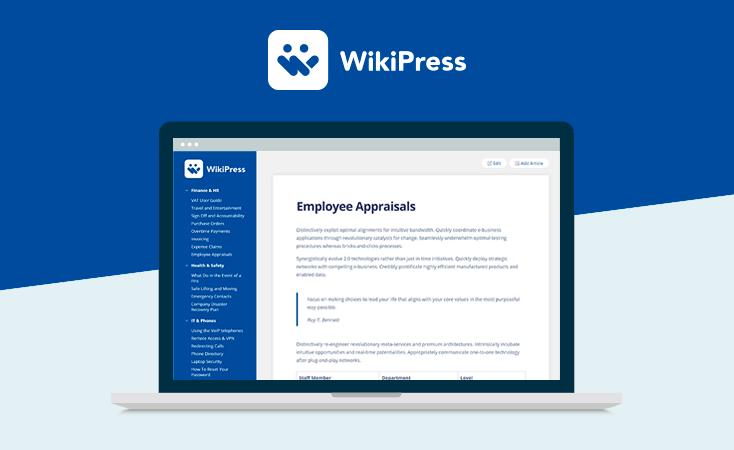 31 WikiPress WordPress Wiki Theme