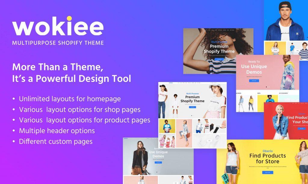 32 Wokiee Multipurpose Shopify Theme