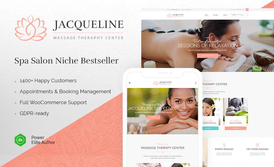 44 Jacqueline – Spa Massage Salon Theme