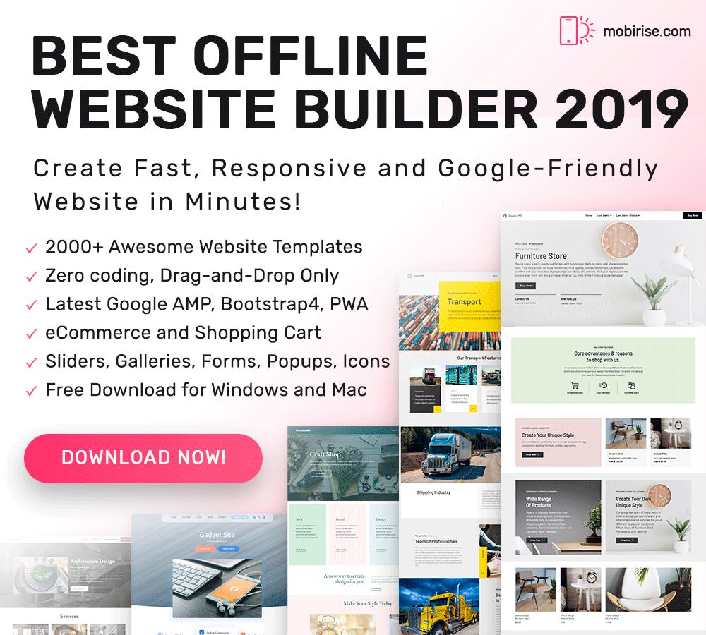 9 Mobirise Website Builder