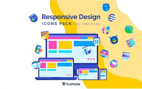 freebie responsive design icons