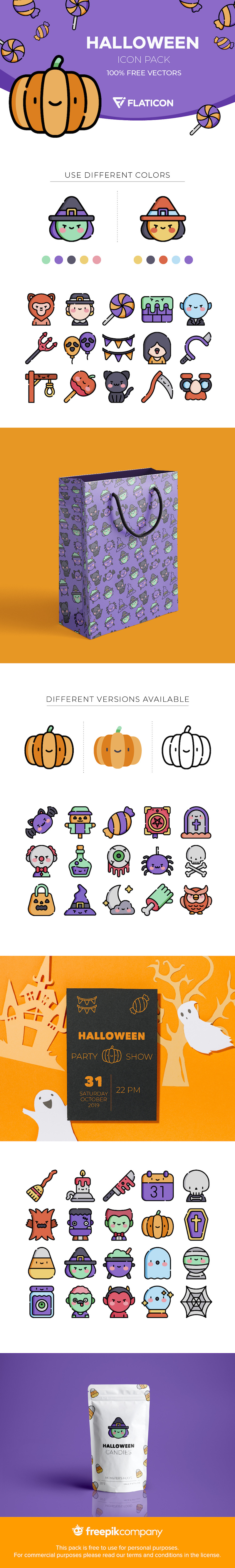 free halloween icons svg png