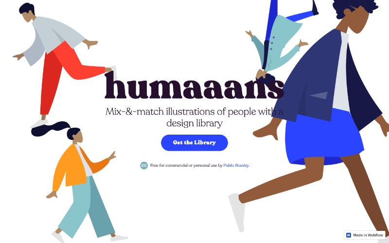 humaans free illustrations library sketch