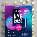10 Free New Year Poster Templates – AI & EPS