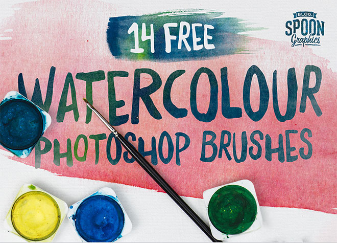 14 watercolor brushes free