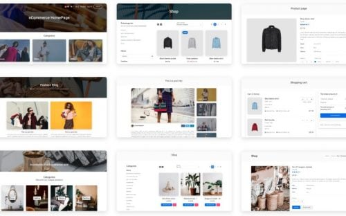 Material Design Ecommerce UI Kit with ready to use Templates