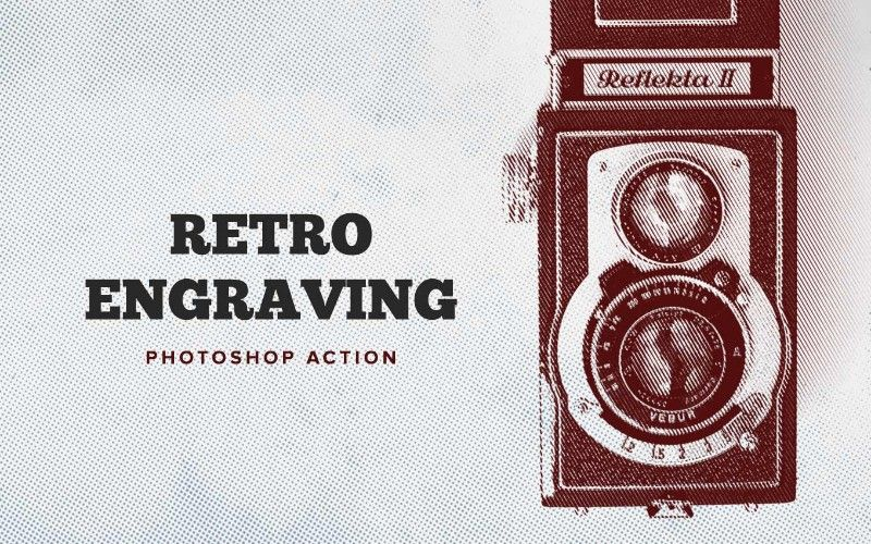 16 Best Retro Photoshop Actions – Free Download & Premium